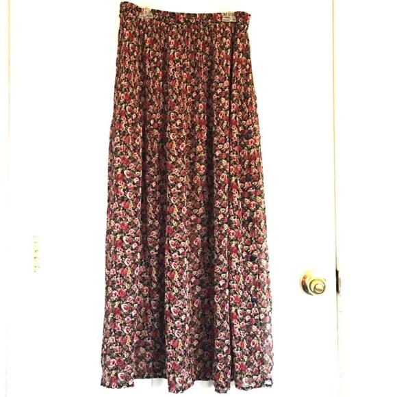 2f76d2101a1cb Compagnie internationale maxi skirt